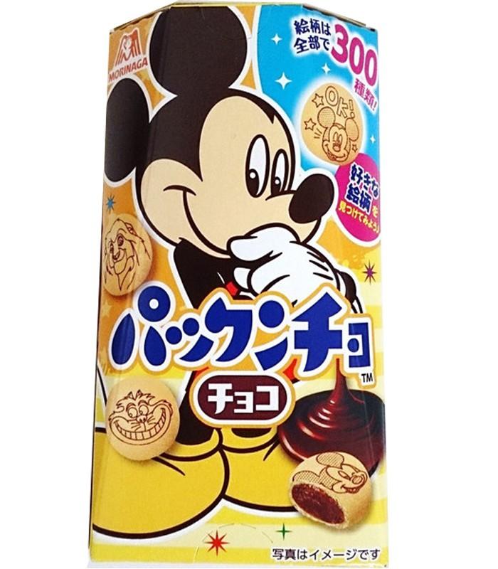 MORINAGA - 迪士尼巧克力餅乾-米奇-47g