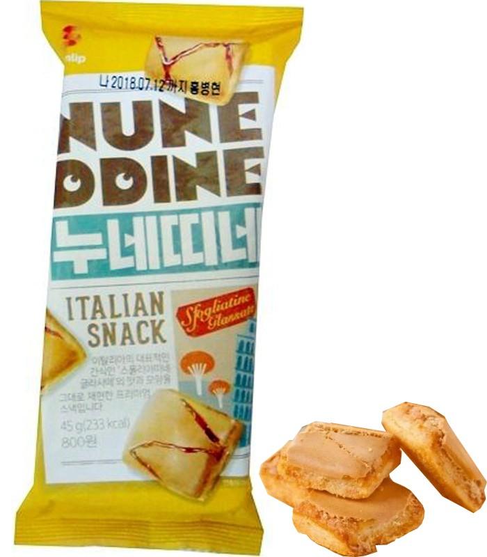 MyHuo Recommended Snacks - 義式焦糖奶油千層一口酥-45g