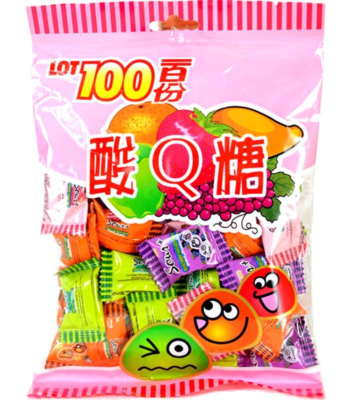 異國零食 - 一百份 酸Q軟糖-200g