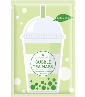 Annie's Way - 珍珠奶茶面膜- 綠茶調理-1片