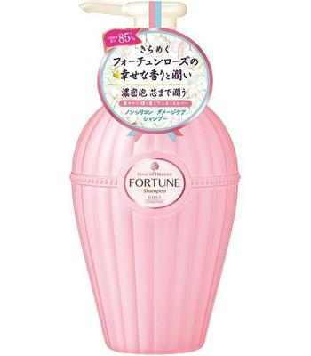KOSE - Fortune玫瑰精油滋潤修護洗髮精-450ml