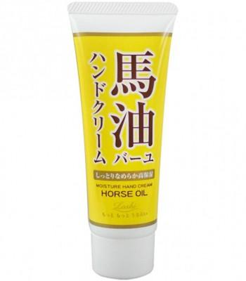 日本馬油相關商品 - Loshi天然馬油滋潤護手霜-60g