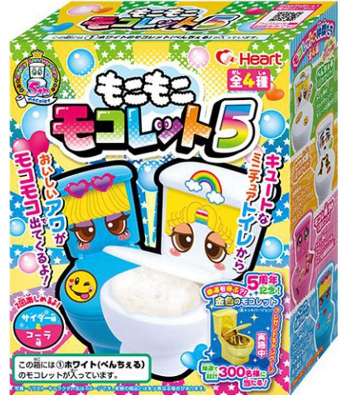 Japanese snacks - 知育菓子創意DIY小達人-馬桶清涼飲料-1組