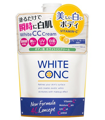 Japan buyer - WHITE CONC VC 瞬白身體CC霜-200g