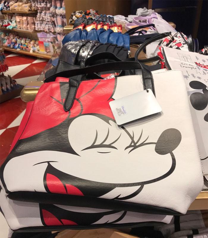 HongKong_buyer - 香港迪士尼 Disney - 米奇 米妮 托特包-1個