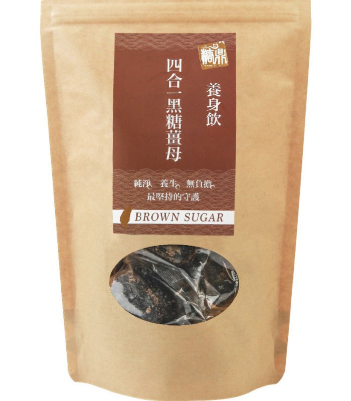 糖鼎養生黑糖磚 - 四合一黑糖薑母茶