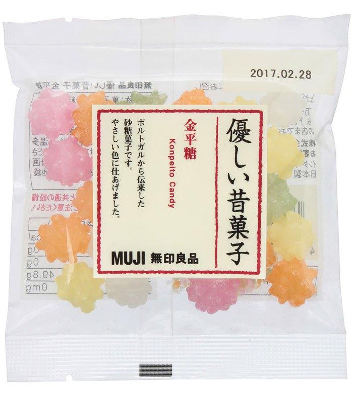MUJI - 懷舊金平糖-50g