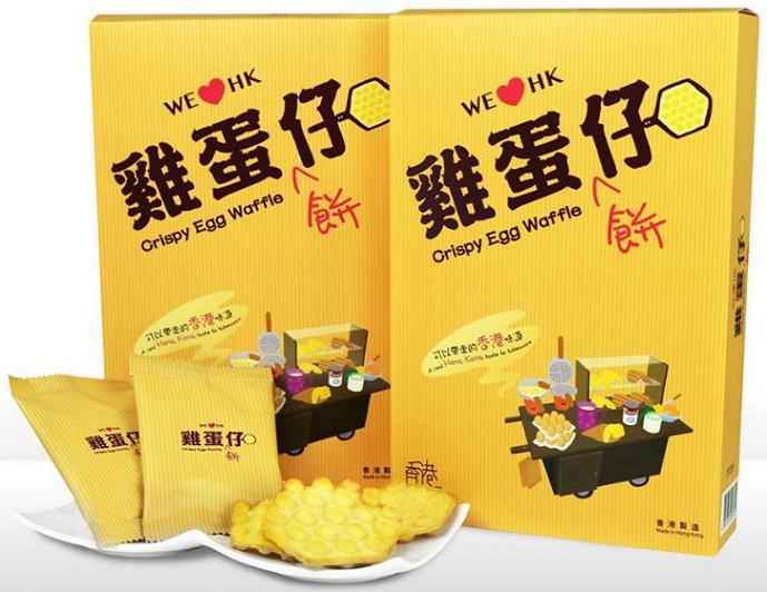 HongKong_buyer - 零食物語-香港駅雞蛋餅仔-原味-84g