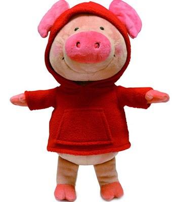 eslite - NICI紅帽T小豬威比