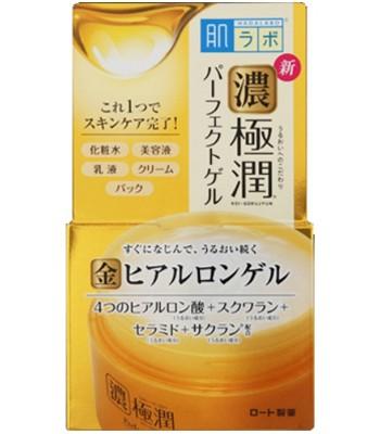 Hada-Labo - 濃極潤5合1完美高保濕潤膚凝露-100g