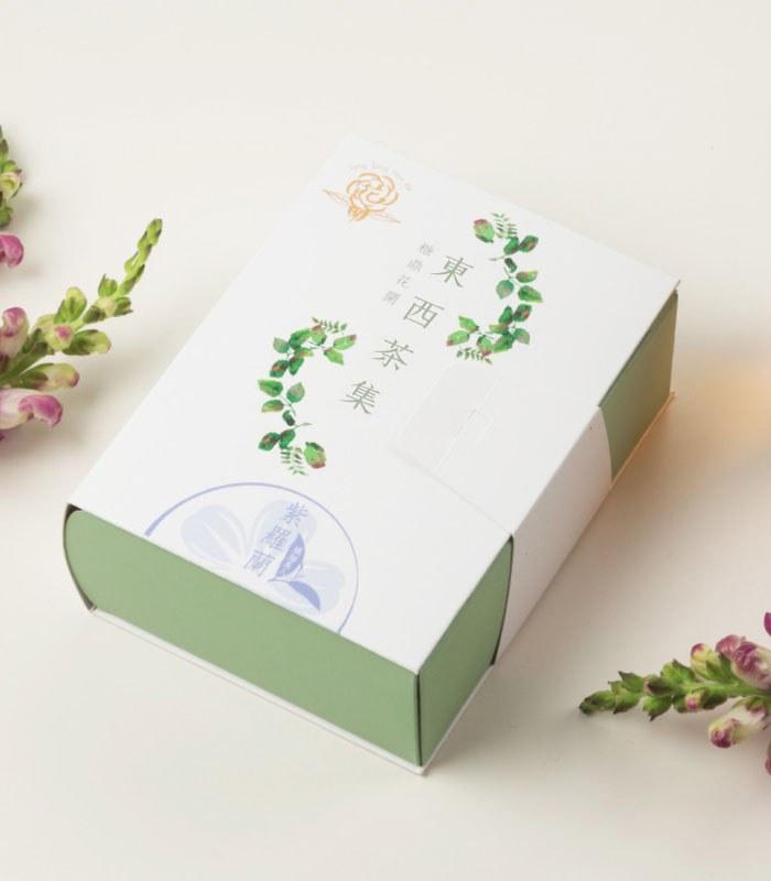糖鼎養生黑糖磚 - 紫羅蘭烏龍-纖細美人-3gx10