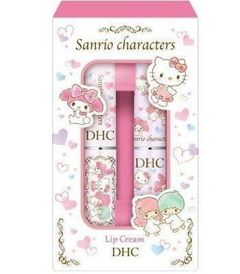 DHC - 純欖護唇膏(三麗鷗限定版)-1.5gX2