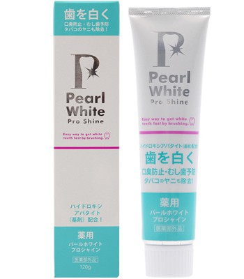 Japan buyer - Pearl White藥用美白牙膏