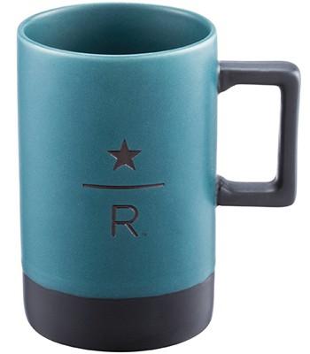Starbucks Corporation - 12OZ TEAL典藏馬克杯-1入