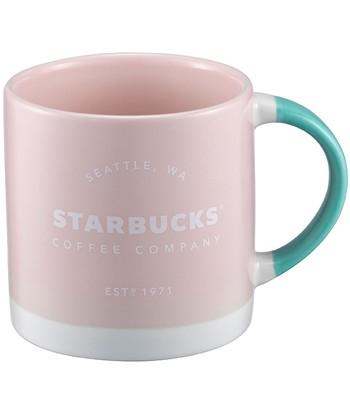 Starbucks Corporation - 12OZ粉經典品牌馬克杯-1入
