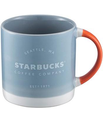 Starbucks Corporation - 12OZ藍經典品牌馬克杯-1入