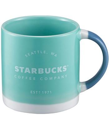 Starbucks Corporation - 12OZ綠經典品牌馬克杯-1入