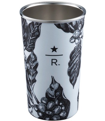 Starbucks Corporation - 12OZ FLORAL典藏不鏽鋼杯-1入