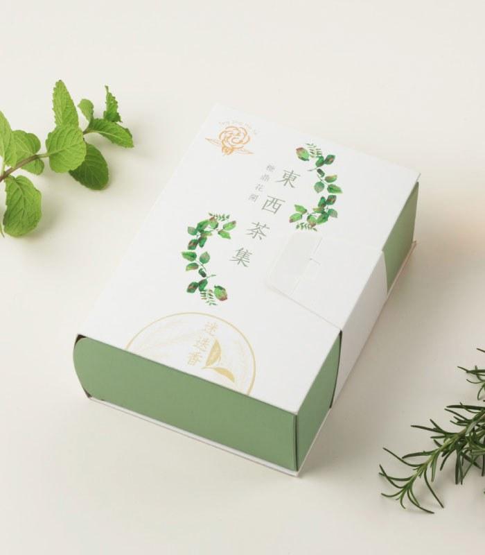 糖鼎養生黑糖磚 - 迷迭香綠茶-元氣美人-3gx10