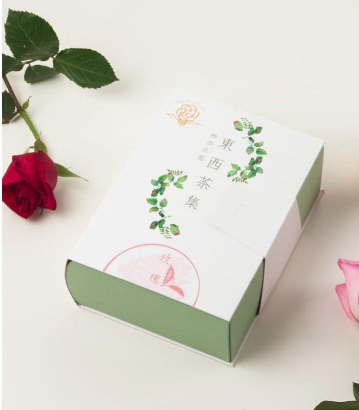 糖鼎養生黑糖磚 - 玫瑰紅茶-紅顏美人-3gx10