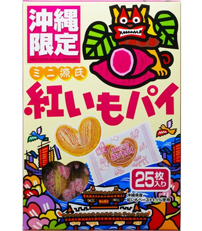 Japanese snacks - 沖繩限定  紫薯派-25入