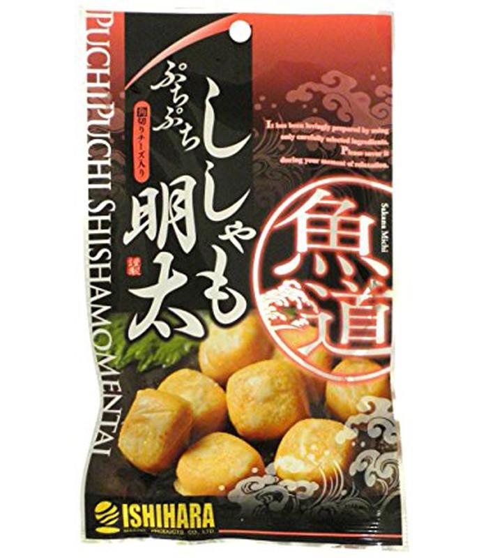 MyHuo Recommended Snacks - 明太子起司塊-38g