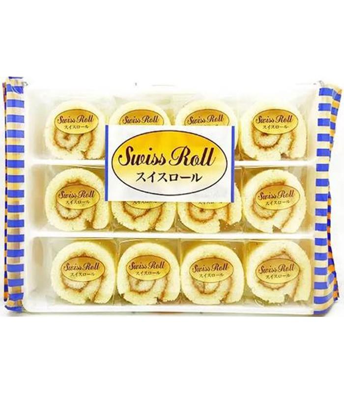 Japanese snacks - 瑞士蛋糕捲-12入
