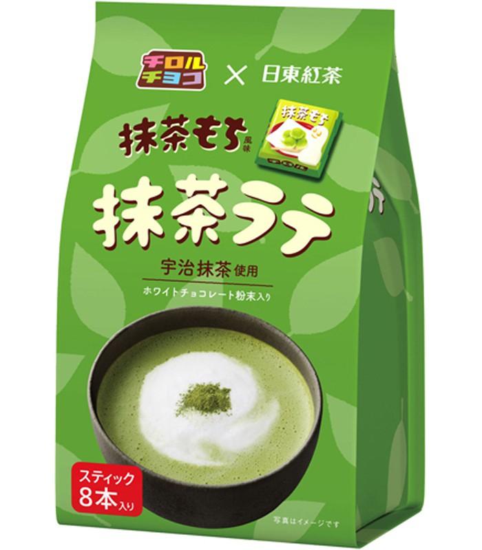 Japanese snacks - 日東抹茶拿鐵-8入