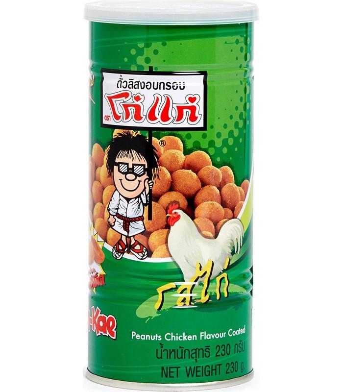 異國零食 - 泰國大哥花生豆-雞肉風味-230g