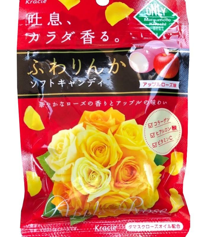 Kracie - 花香軟糖-[蘋果玫瑰]-32g