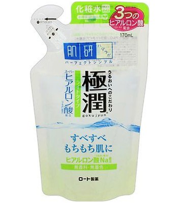 Hada-Labo - 保濕化妝水補充包-清爽型-170ml
