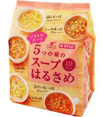 Japanese snacks - 綜合速食冬粉-粉紅-10包入
