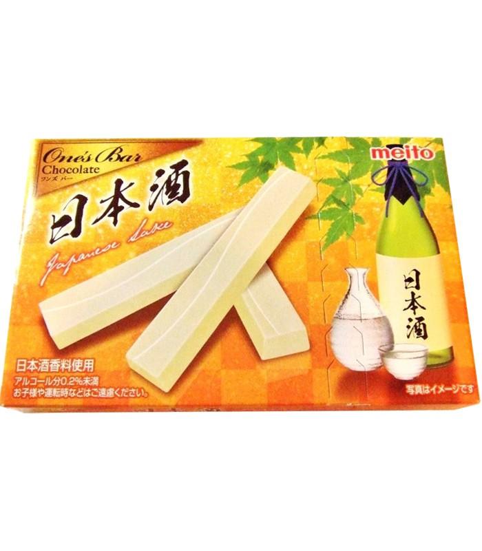 Japanese snacks - meito名糖日本酒味巧克力棒-28g