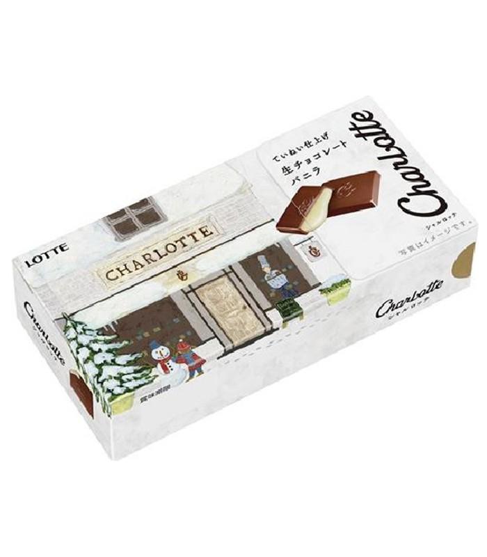 LOTTE - 樂得巧克力-香草-68.4G
