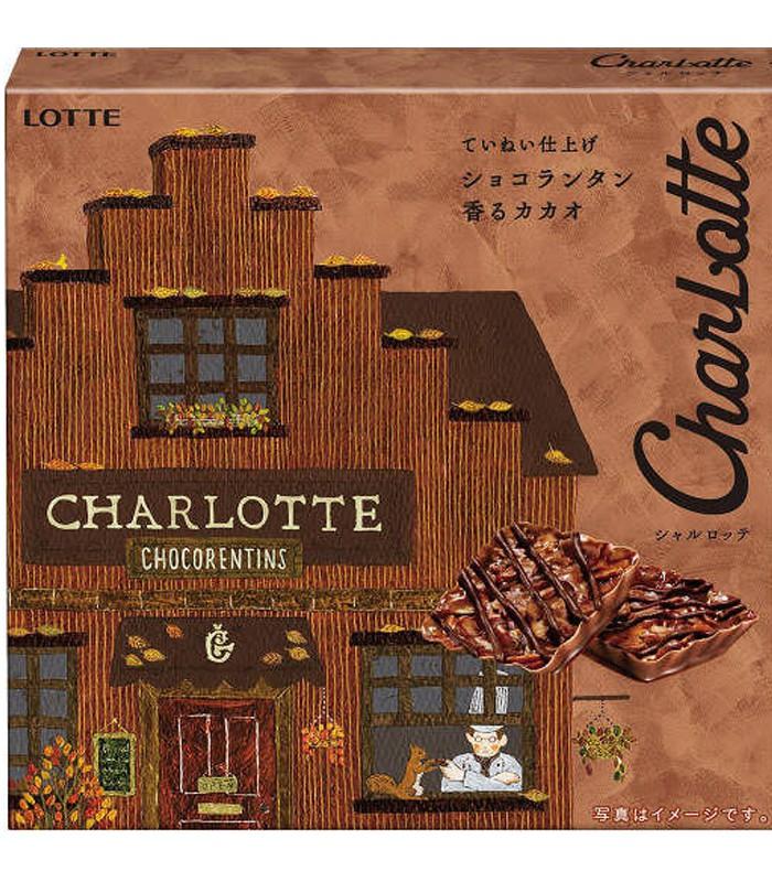 LOTTE - 樂得巧克力-焦糖巧克力杏仁塔-51.2g