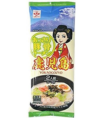 Japanese snacks - 東丸鹿兒島拉麵-豚骨-160g
