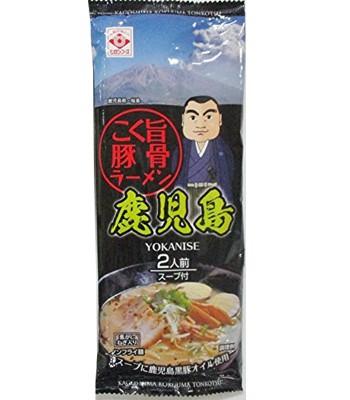 Japanese snacks - 東丸鹿兒島拉麵-濃醇豚骨-160g