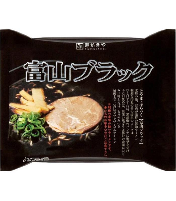 Japanese snacks - 壽賀喜屋 富山黑拉麵-120g