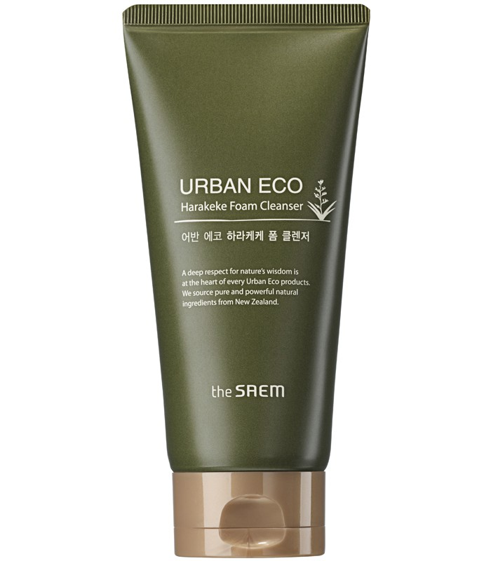 the saem - URBAN ECO Harakeke 保濕泡泡潔面乳-150g
