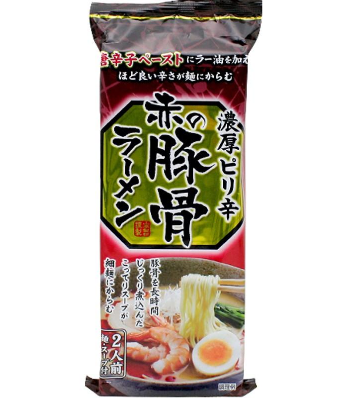 Japanese snacks - 山本拉麵-赤豚骨風味-2人份