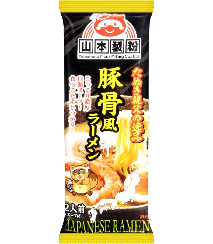 Japanese snacks - 山本拉麵-豚骨風味-2人份