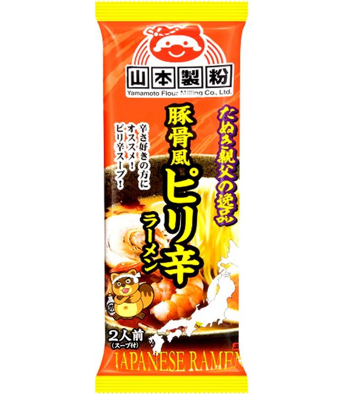 Japanese snacks - 山本拉麵-辛豚骨風味-2人份