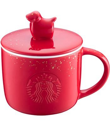 Starbucks Corporation - 12OZ狗年亨通馬克杯-1入