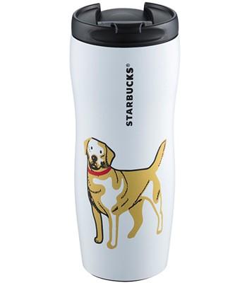 Starbucks Corporation - 12OZ金狗獻瑞不鏽鋼杯-1入
