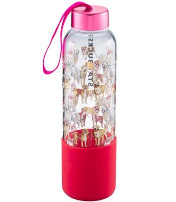 Starbucks Corporation - 17OZ狗年矽膠玻璃水瓶-1入