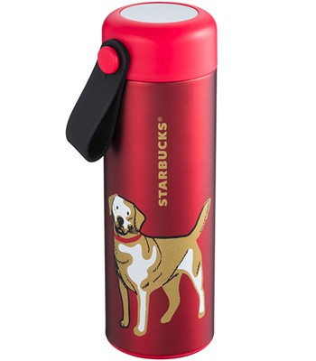 Starbucks Corporation - 12OZ福犬報喜不鏽鋼杯-1入