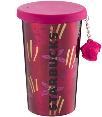 Starbucks Corporation - 12OZ狗年掛飾不鏽鋼杯-1入