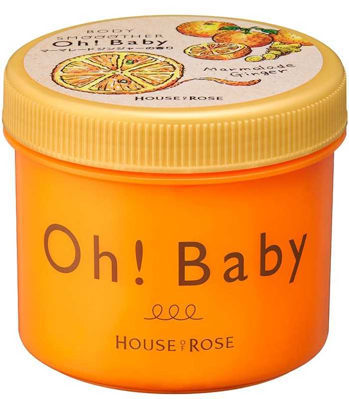 House Of Rose - Oh Baby 身體去角質美體霜- 暖薑蜜香-350g