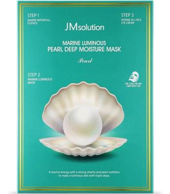 JMsolution - 珍珠保濕三步驟面膜-10片