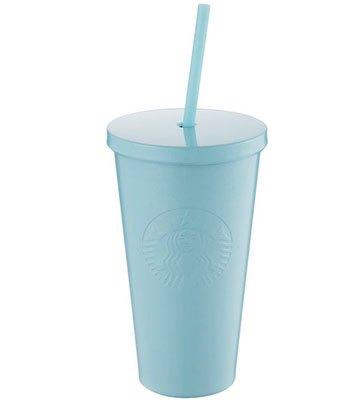 Starbucks Corporation - 16OZ ICYBLUE不鏽鋼TOGO冷水杯-1入